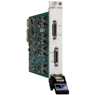 EMX-4250 - Analyseur de signaux dynamiques 16 voies 204.8 Ke/s 24 bits au format PXIe