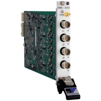 EMX-4350 - Analyseur de signaux dynamiques 4voies 625 Ke/s 24 bits au format PXI Express