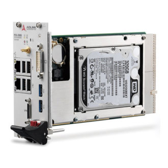 PXI-3980 - 3U Intel® Core™ i7-2715QE 2.1 GHz Quad-Core Processor-based PXI Controller