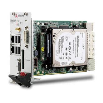 PXIe-3975 - Contrôleur PXI Express avec processeur double cœur Intel® Core ™ i5-520E 2.4 GHz