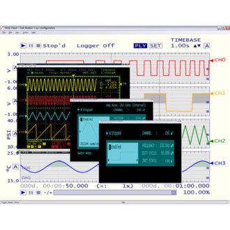 TracerDAQ® Pro -            Suite logiciel d'instruments virtuels