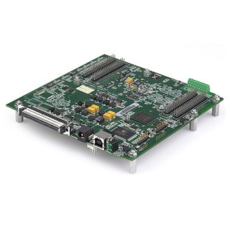 Série USB-2500 - Carte DAQ USB avec jusqu'à 64 SE/32 DIFF A/D 16-Bit, 1Me/s avec 24 E/S numériques et 4 entrées Thermocouple (option 4 D/A)