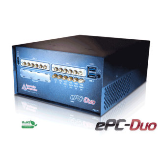 ePC-Duo - PC Intégré hautes performances avec double site XMC pour E/S
