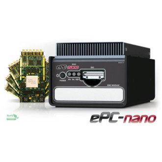 ePC-nano - PC intégré compact avec liaison Ethernet Gigabit et un site E/S XMC