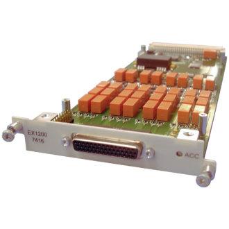EX1200-7416 - Carte EX1200, Détecteur/Comparateur 16 voies