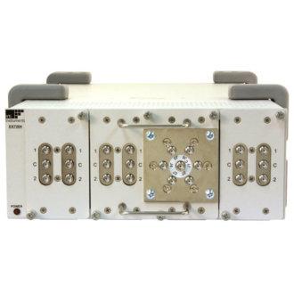 EX7204 - Châssis modulaire 1/2 rack, 4 slots pour modules de commutation hyperfréquence