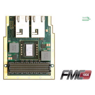 FMC-10GE - Module FMC, Double Port Ethernet 10 GBe