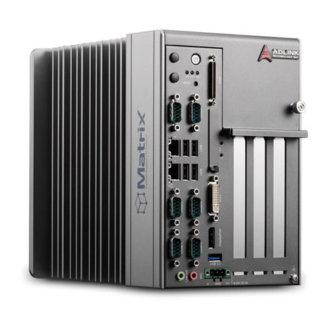 MXC-2300 - PC intégré sans ventilation, processeur Intel® Atom™ E3845, avec slots PCI/PCIe