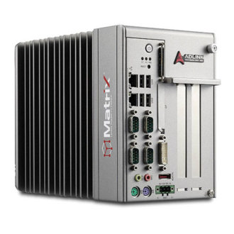 MXC-6000 - Powerful Intel® Core i7 Fanless Expandable Embedded Computer with PCI/PCIe Slots