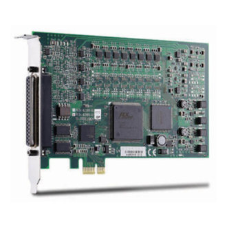 PCIe-6208V-GL - Carte PCI Express, 8 sorties analogiques 16-bit