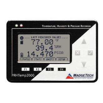 PRHTEMP2000 - Enregistreur Pression, Humidité et Température avec Affichage