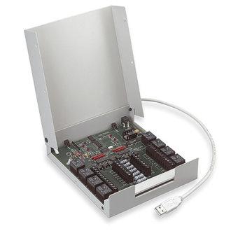 SwitchAndSense-8/8 - Boîtier USB avec 8 sorties relais et 8 entrées isolées