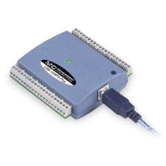 USB-1208FS-Plus - DAQ USB multifonction avec 8 SE/4 DIFFA/D, 12 bits, 50 Ke/s