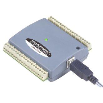 USB-1208LS - DAQ USB multifonction avec 8 SE/4 DIFF A/D, 12 bits, 1.2 Ke/s