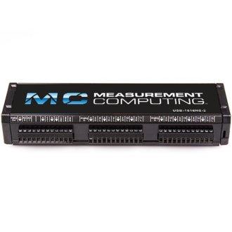 USB-1616HS Séries - Boitier DAQ USB avec 16 SE/8 DIFF A/D haute vitesse, 16 bits pour mesure de tension et de température