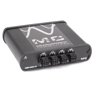 Série USB-2404 - Boîter DAQ-USB 24 bits pour les capteurs de tension, de température, courant, résistance ou de pont
