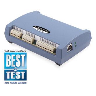 Série USB-2408 - Boîtier USB-DAQ 24-Bit multifionction pour de la mesure de témpérature et de tension