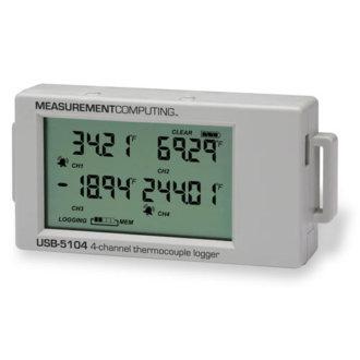 Série USB-5100 - Enregistreur de données multivoies thermocouples, courant ou tension
