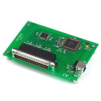 Série USB-DIO24 - Carte avec 24 E/S numériques et interface USB