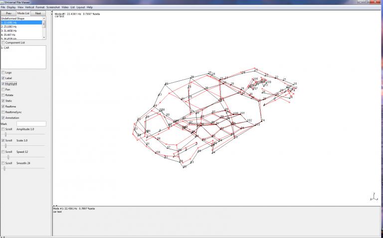 X-Modal III - Logiciel d'analyse modale avec acquisition de données intégrée