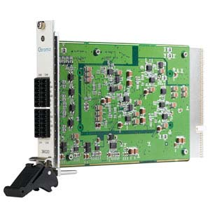 36020 - Carte PXI, Alimentation quatre voies quatre quadrants