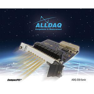 ADQ-250 - Carte cPCI/PXI, 8 entrées analogiques isolées