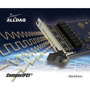 ADQ-610 - Carte cPCI/PXI, 8 sorties Tension isolées