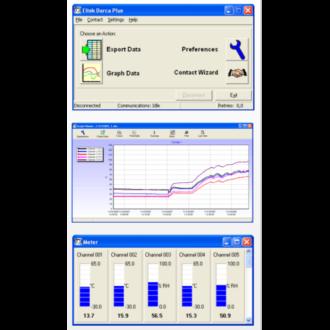 Darca Plus - Logiciel de Configuration et de Traitement des Données pour les Enregistreurs ELTEK