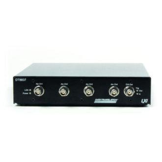 DT8837 - Instrument Ethernet ( LXI ) avec 4 entrées IEPE