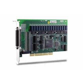 PCI-7256 - Carte PCI avec 16 sorties relais à verrouillage et 16 entrées numériques isolées