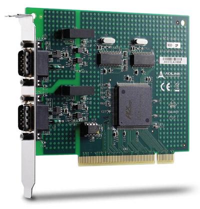 PCI-7841 - Carte PCI avec interface CAN isolées double port