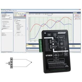 DT9828 - Module DAQ Thermocouple à faible coût, USBalimenté