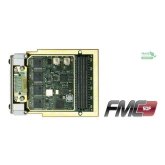 FMC-SDF - Module FMC, 4 voies ADC 625 Ke/s 24 bits et 2 voies DAC18 bits