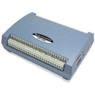 Série USB-1808 - DAQ USB multifonction avec 8 A/D simultanés 18-Bit, jusqu'à 200 Ke/s, 2 D/A et 4 DIO