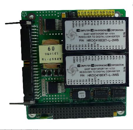 PC104-DS - Carte PC-104, Double sorties Synchro/Résolveur