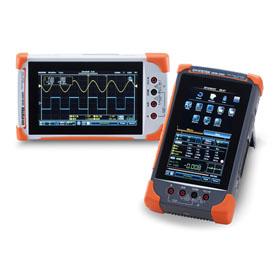 GDS-200/300 - Oscilloscope de terrain 70/100/200 MHz, 2 voies, avec DMM