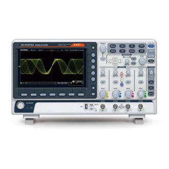 GDS-2000E - Oscilloscope numérique 70/100/200 MHz,2 ou 4 voies