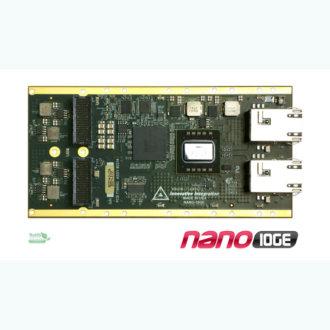 Nano-10GE - Double interface 10 GbE pour ePC-nano