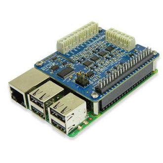 MCC 118 - DAQ HAT, entrées tension, pour Raspberry Pi®