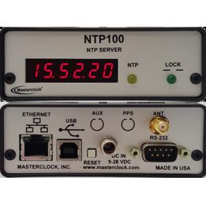 NTP100-GPS - Serveur de temps NTP avec récepteur GPS