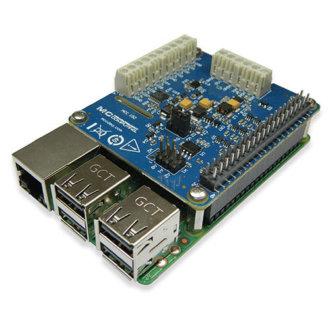 MCC 152 - DAQ-HAT MCC avec 2 D/A 12-Bit, simultanées et 8 DIO pour Raspberry Pi®