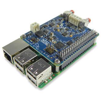MCC 172 - DAQ-HAT MCC avec 2 entrées analogiques simultanées, 24-Bit, IEPE, 51.2 Ke/s pour Raspberry Pi®